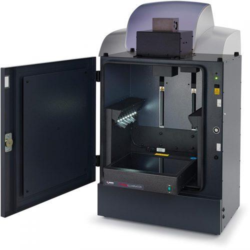 G:BOX Chemi XX6/XX9 gel imaging system - inside view
