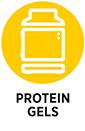Protein gels